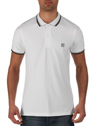 Bench Competitor B Polo Shirt White