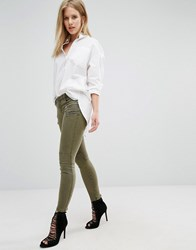 Blank Nyc Crop Cargo Trouser Green