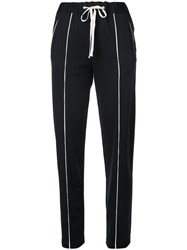 Rag And Bone Cropped Trousers Black