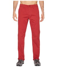 Toadandco Mission Ridge Pant Brick Red Casual Pants