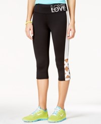 Material Girl Juniors' Printed Leggings Only At Macy's Black