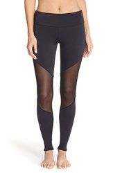 Women's Onzie Colorblock Track Leggings Black