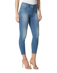 Miraclebody Jeans Faith Ankle Length Blue