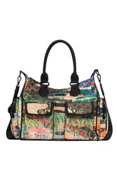 Desigual Bag Explorer London Medium Green