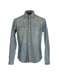 Jacob Cohen Jacob Coh N Denim Denim Shirts Men Blue