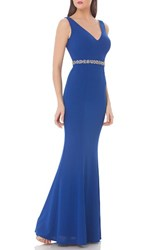 Js Collections Women's Embellished Mermaid Gown