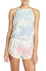 35Mm Clothing Women's 35Mm 'Summer' Print Cotton Romper
