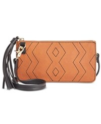Inc International Concepts Austin Convertible Crossbody Pouch Only At Macy's Neutral