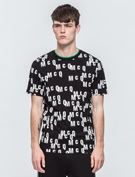 Mcq By Alexander Mcqueen All Over Print S S T Shirt
