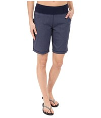 Do Everything Bermuda Lucy Navy Heather Women's Shorts Gray