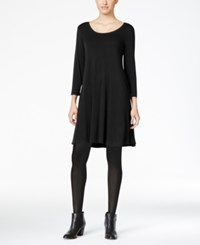 Styleandco. Style Co. Swing Dress Only At Macy's Deep Black