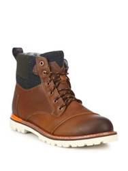 Toms Ashland Leather Boots Brown