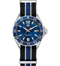 Tag Heuer Waz1010fc8197 Formula 1 Stainless Steel Watch Blue