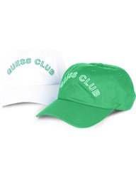 Guess Originals X A Ap Rocky Pack Of Two Baseball Caps Med Green