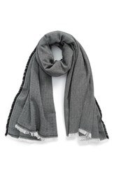 Women's Sole Society Herringbone Scarf