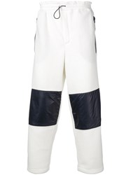Lc23 Panelled Trousers White