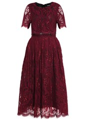 Mintandberry Cocktail Dress Party Dress Windsor Wine Dark Red