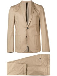 Neil Barrett Two Piece Suit Brown