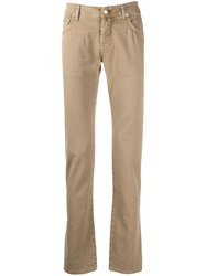 Jacob Cohen Slim Fit Relaxed Chinos 60