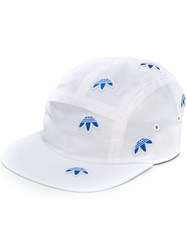 Adidas By Alexander Wang Originals Embroidered Trefoil Cap White