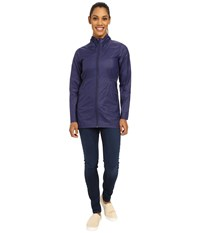 The North Face Nueva Trench Jacket Patriot Blue Women's Coat Navy