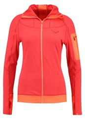 Dynafit Traverse Thermal Fleece Hibiscus Light Red