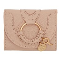 See By Chloe Pink Hana Trifold Wallet