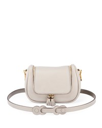Anya Hindmarch Vere Small Leather Satchel Bag Gray