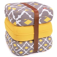 Fatboy Floor Cushions Baboesjka Set Yellow