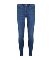 Burberry Skinny Fit Low Rise Power Stretch Jeans Female Denim