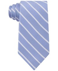 Club Room Men's Perfect Stripe Tie Only At Macy's Blue