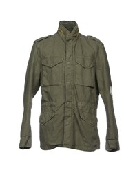 Original Vintage Style Jackets Military Green