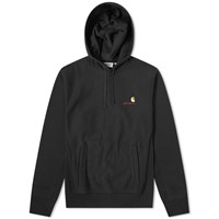 Carhartt Hooded American Script Sweat Black