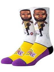 Stance Lebron Big Head Socks Multicolor