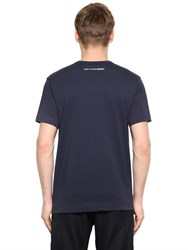 Comme Des Garcons Essential Cotton Jersey T Shirt