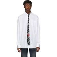 Vetements White Tie Shirt