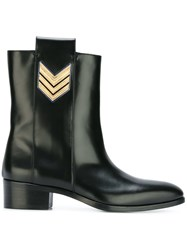 Dsquared2 'Urban Officer' Ankle Boots Black