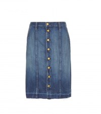 Current Elliott The Short Sally Denim Skirt Blue