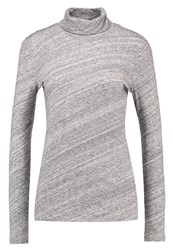 J.Crew Tissue Long Sleeved Top Heather Flannel Grey