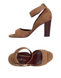 Avril Gau Sandals Brown