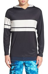 Men's Volcom '3 Quarta Thrashguard' Long Sleeve Hooded Rash Guard