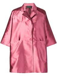 Gianluca Capannolo Oversized Shirt Dress Pink