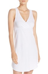Naked Women's Stretch Cotton Chemise White