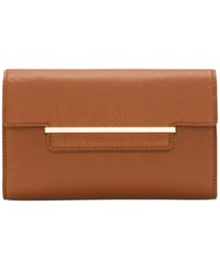Vince Camuto Aster Clutch Russet