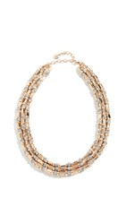 Baublebar Cailyn Layered Necklace Gold Silver