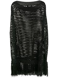 Dsquared2 Crochet Knit Fringed Top 60