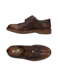 Brimarts Lace Up Shoes Cocoa