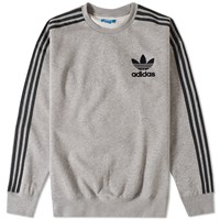 Adidas Adc Fashion Crew Sweat Grey