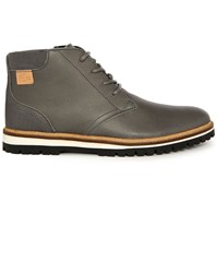 Lacoste Grey Montbard Pr Laced Boots