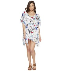 Seafolly Botanical Kaftan Cover Up White Women's Swimwear